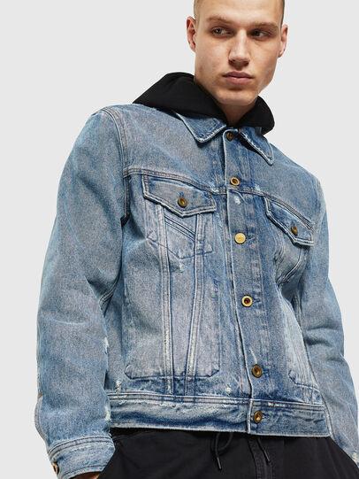 Diesel - D-BRAY, Blu Jeans - Giacche in denim - Image 1