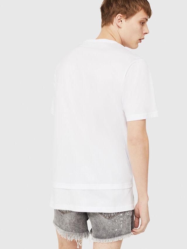 Diesel - T-YORI-Y1, Bianco - T-Shirts - Image 2