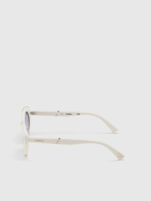 Diesel - DL0281, Bianco - Occhiali da sole - Image 3