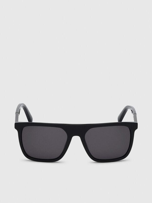 DL0299, Nero/Grigio - Occhiali da sole