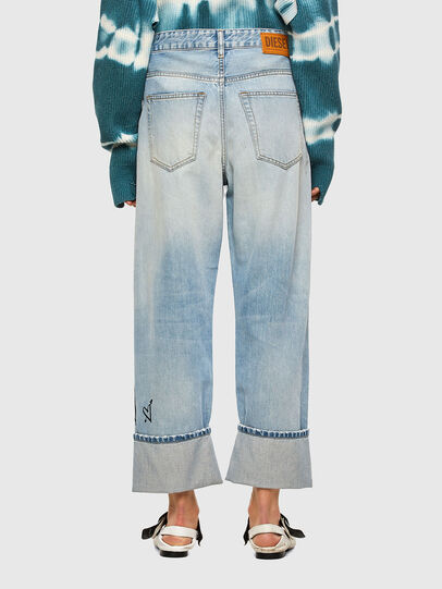Diesel - D-Reggy 009GZ, Blu Chiaro - Jeans - Image 2