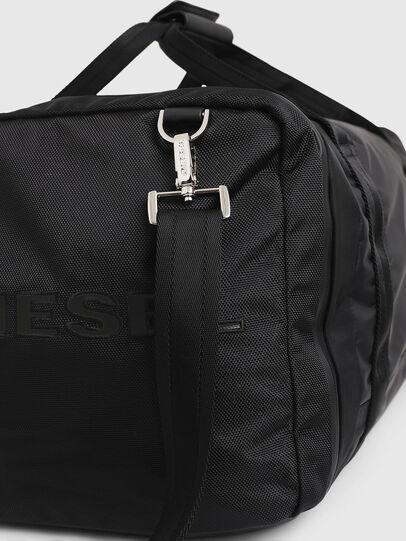 Diesel - M-CAGE DUFFLE M, Nero - Borse da viaggio - Image 6