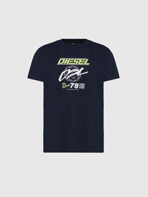 T-DIEGOS-K34, Blu Scuro - T-Shirts