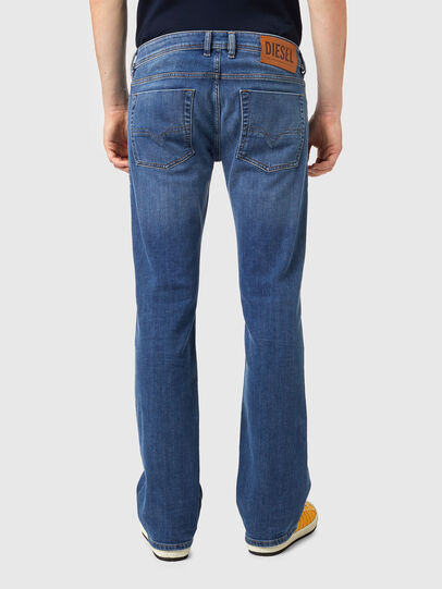 Diesel - Zatiny 09A80, Blu medio - Jeans - Image 2