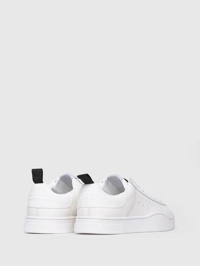 Diesel - S-CLEVER LOW W, Bianco Vivo - Sneakers - Image 3