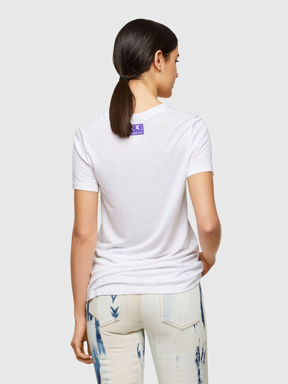 Diesel - T-SILY-A8, Bianco - T-Shirts - Image 2