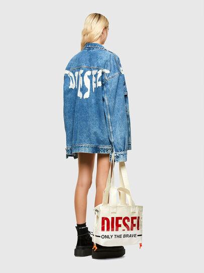 Diesel - ASTI, Bianco - Shopper e Borse a Spalla - Image 6