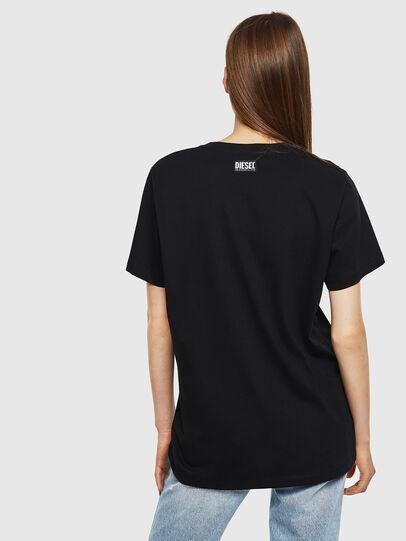 Diesel - T-DARIA-K, Nero - T-Shirts - Image 2
