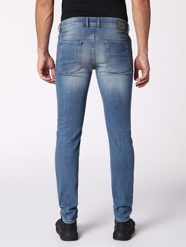 Diesel - Sleenker 084RV, Blu Jeans - Jeans - Image 2