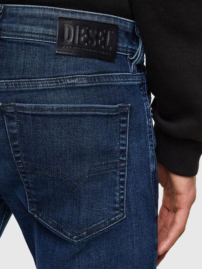 Diesel - Sleenker 009QI, Blu Scuro - Jeans - Image 4
