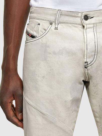 Diesel - D-Kras 009ZC, Grigio Chiaro - Jeans - Image 4