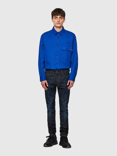 Diesel - D-Amny 069WF, Blu Scuro - Jeans - Image 5