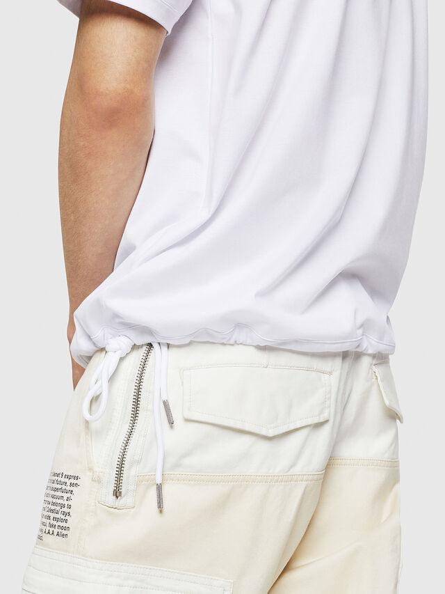 Diesel - T-ALEKSEY, Bianco - T-Shirts - Image 3
