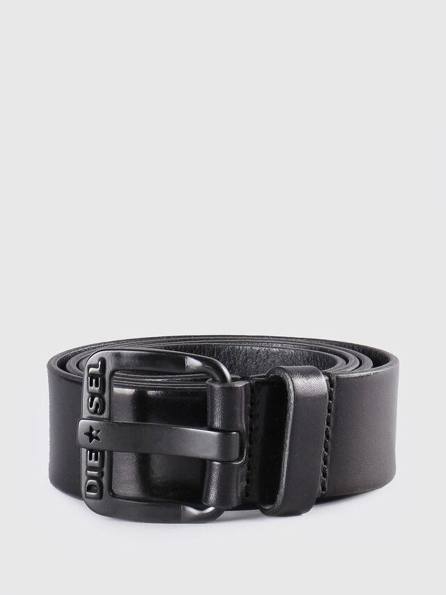 Diesel - B-STAR, Nero Cuoio - Cinture - Image 1