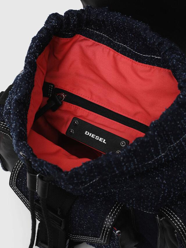 Diesel - MISS-MATCH BACKPACK, Blu Jeans - Zaini - Image 3