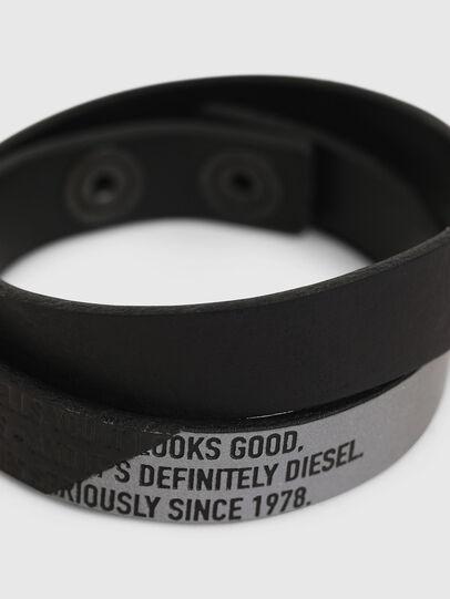 Diesel - A-CCA, Nero - Bijoux e Gadget - Image 2