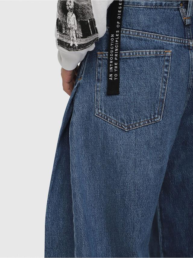Diesel - D-Izzier 080AQ, Blu medio - Jeans - Image 4