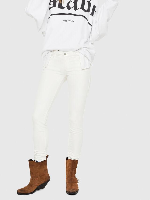 Diesel - Gracey JoggJeans 088AZ, Bianco - Jeans - Image 1