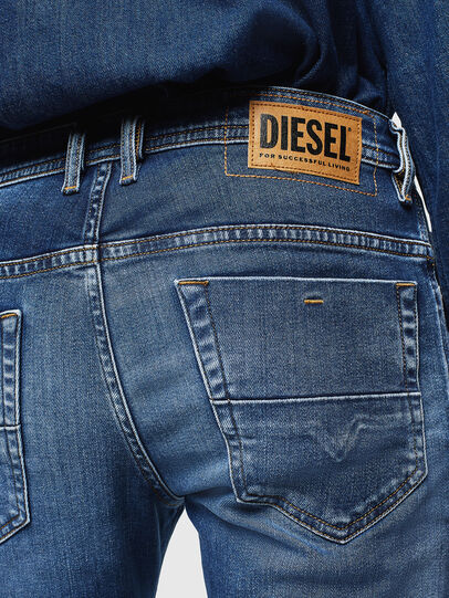 Diesel - Thommer 0097W, Blu Scuro - Jeans - Image 4