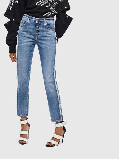 Diesel - Babhila 009AA, Blu medio - Jeans - Image 1