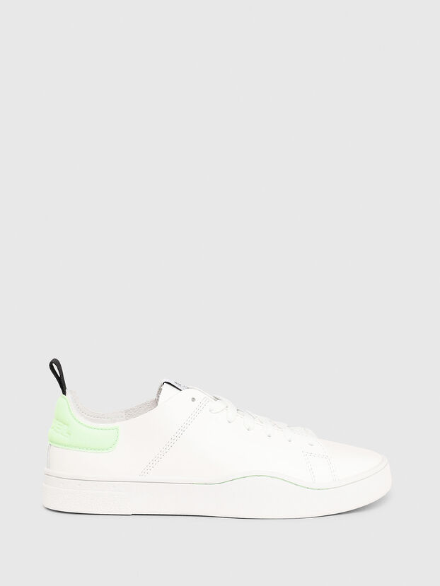 S-CLEVER LS W, Bianco/Verde - Sneakers