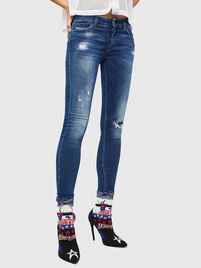 Diesel - Slandy 089AI, Blu medio - Jeans - Image 1