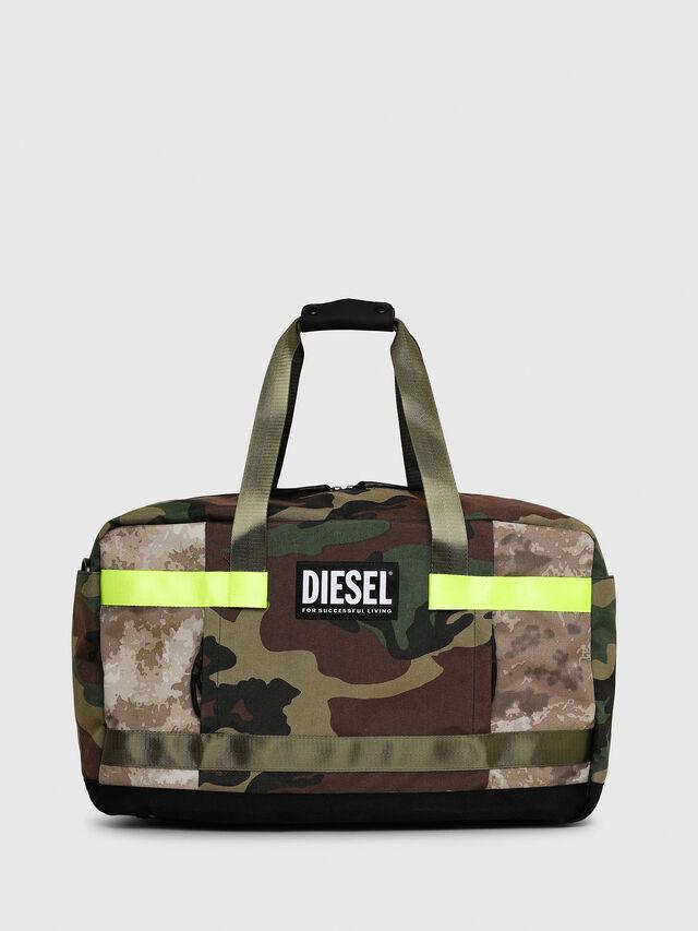 Diesel - SOLIGO, Verde Camo - Borse da viaggio - Image 1