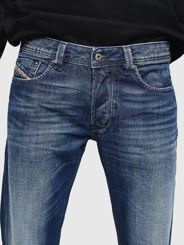 Diesel - Larkee 008XR, Blu Scuro - Jeans - Image 3