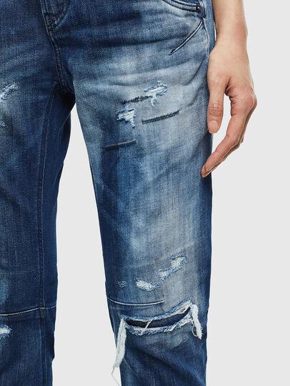Diesel - Fayza JoggJeans 0099S, Blu Scuro - Jeans - Image 4