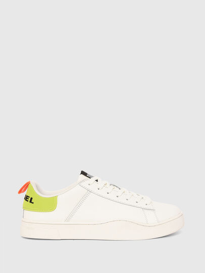 Diesel - S-CLEVER LOW LACE, Bianco/Giallo - Sneakers - Image 1