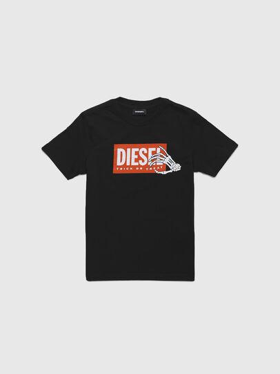 Diesel - TSKELE-TSE, Nero - T-shirts e Tops - Image 1