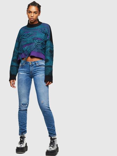 Diesel - Gracey JoggJeans 069IH, Blu Chiaro - Jeans - Image 5