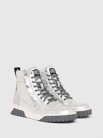 Diesel - S-RUA MID W, Argento - Sneakers - Image 2