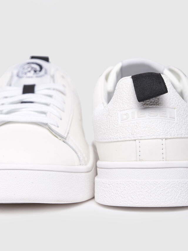 Diesel - S-CLEVER LOW W, Bianco - Sneakers - Image 4