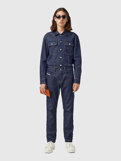 Diesel - D-Viker 09B28, Blu Scuro - Jeans - Image 4