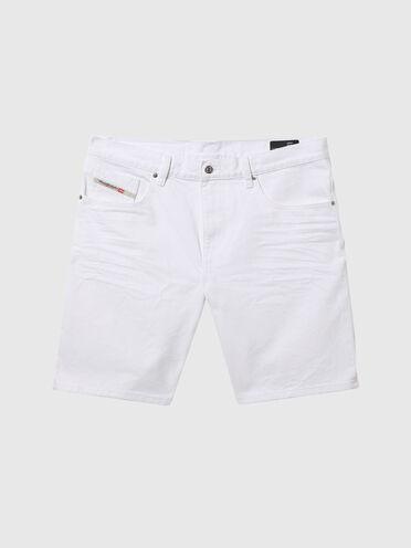 Shorts slim fit in denim con Polygiene ViralOff®