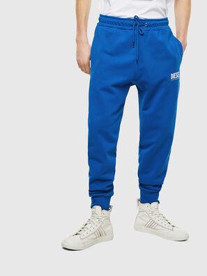 P-TARY-LOGO, Blu - Pantaloni