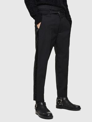 P-HOOKY, Nero - Pantaloni