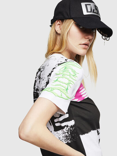 Diesel - T-SILY-WU, Bianco - T-Shirts - Image 3