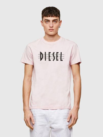 Diesel - T-DIEGOS-E34, Cipria - T-Shirts - Image 1