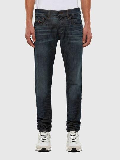 Diesel - D-Strukt JoggJeans® 009KJ, Blu Scuro - Jeans - Image 1