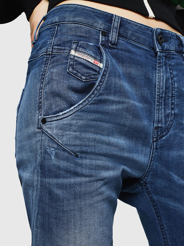 Diesel - Fayza JoggJeans 069HB, Blu medio - Jeans - Image 6
