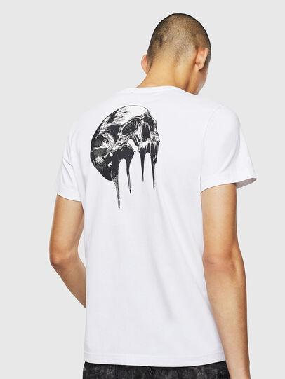Diesel - T-DIEGO-J10, Bianco - T-Shirts - Image 2