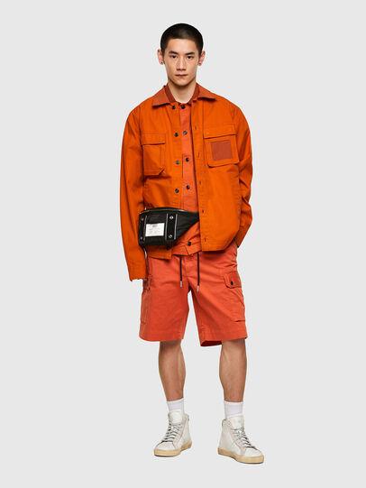 Diesel - S-GUNN-LS, Arancione - Camicie - Image 5
