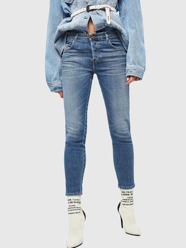 Diesel - Babhila 086AP, Blu Chiaro - Jeans - Image 1