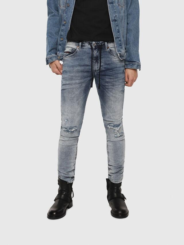 Diesel - Thommer JoggJeans 069FC, Blu medio - Jeans - Image 1