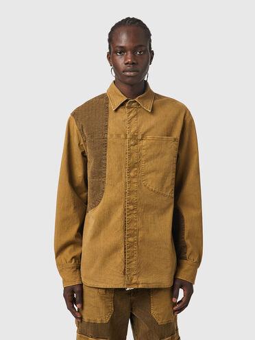 Overshirt in JoggJeans® con applicazioni