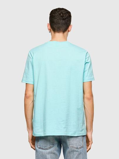 Diesel - T-JUST-E9, Blu Chiaro - T-Shirts - Image 2