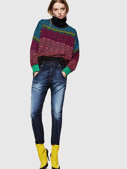 Diesel - Fayza JoggJeans 069IE, Blu Scuro - Jeans - Image 6