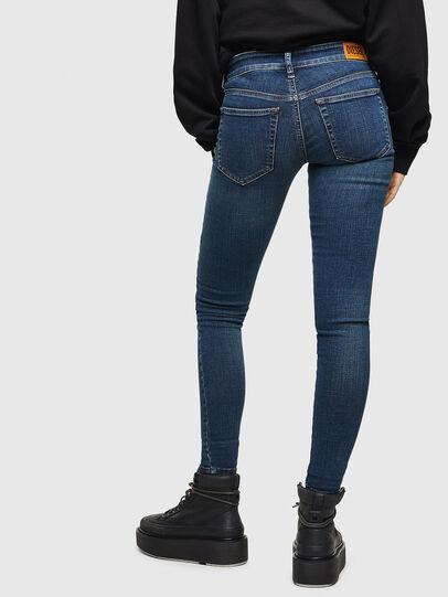 Diesel - Slandy Low 069KW, Blu Scuro - Jeans - Image 2